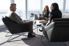 кресла, мужчина, женщины, окна