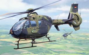 airbus, ввс германии, вертолеты, люфтваффе, военный вертолет, немецкий