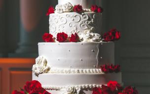 торт, свадебный