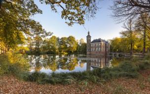 bouvigne castle, города, замки нидерландов, простор