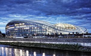 города, дублин , ирландия, aviva, stadium