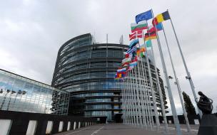 города, брюссель , бельгия, european, parliament