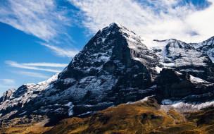 природа, горы, снег, гора