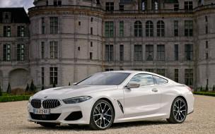роскошное купе, новый, немецкие автомобили, белый