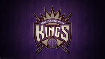 логотип, фон, Sacramento Kings