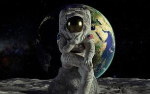 астронавт, Земля
