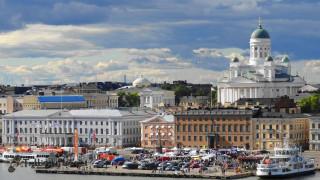 города, хельсинки , финляндия, здания, причал, хельсинки