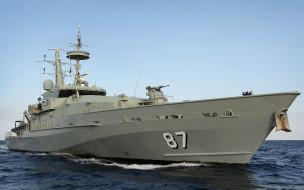 военные корабли, класс армидейл, вмс австралии, патрульный катер