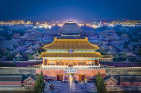 города, пекин, китай, столицы, императорский дворец, дворцы, запретный город