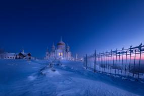 города, - православные церкви,  монастыри, белогорский, николаевский, монастырь, белая, горнаса, россия, тропинка, пермский, край, храм, крестовоздвиженский, собор