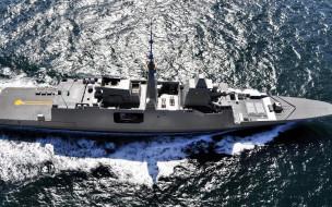 море, военные корабли, вмс франции, фрегат fremm, многоцелевой, фрегат, французский