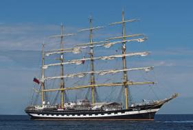 kruzenshtern , крузенштерн, корабли, парусники, мачты, паруса