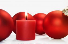 шар, игрушка, свеча