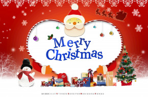 подарок, снежинка, фон, елка, снеговик