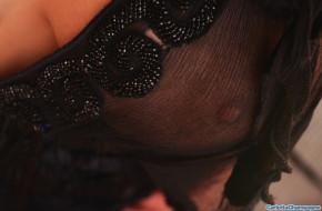 блузка, грудь