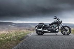 мотоцикл, дорога, Triumph, байк