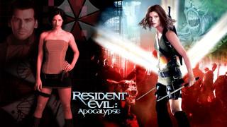 кино фильмы, resident evil 2,  apocalypse, мужчина, взгляд, фон, девушки