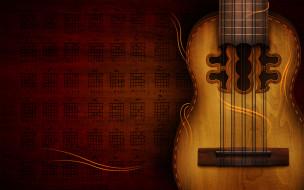 инструмент, гитара, табулатура