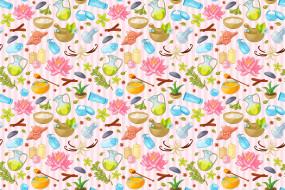олива, орхидея, корица, кувшинка, мед, ракушка, свечи, масло, полотенце