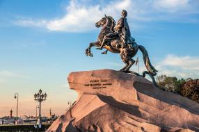 Медный Всадник, Санкт- Петербург, Россия, город, памятник