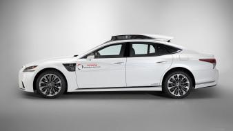 autonomous vehicle, lexus, ls, седан, автономный автомобиль, 2019, профиль, лексус, tri p4