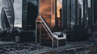 архитектура, здание, город, москва, небоскребы, городской вид