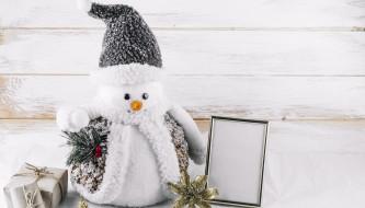 игрушечный, снеговик, Большой