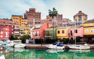 города, валенсия , испании, пристань