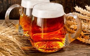 пиво, бокал, пена