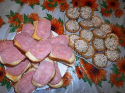 бутерброды, еда, хлеб, сыр, колбаса, прожные, тарталетки