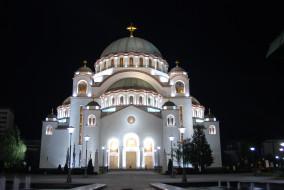 церковь, храм, православие, саввы, святого, собор, собор святого саввы, столицы, города, религия, христианство, сербия, белград