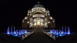 православие, христианство, религия, храм, церковь, саввы, святого, собор, собор святого саввы, столицы, города, сербия, белград