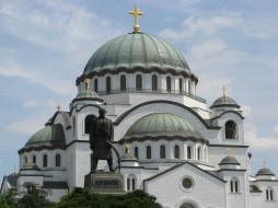 собор святого саввы, города, белград , сербия, религия, христианство, православие, храм, церковь, саввы, святого, собор, столицы, белград