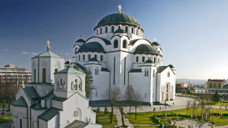 города, столицы, собор святого саввы, собор, святого, сербия, белград, религия, христианство, православие, храм, церковь, саввы