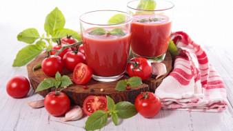 томатный, сок, помидоры, томаты