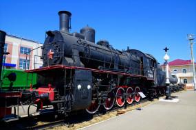 паровоз, техника, паровозы, локомотив