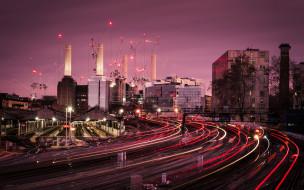 станция, ночь, Лондон