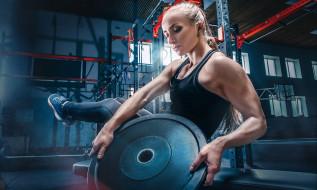 спорт, body building, тренажерные, залы, мышцы, женщины, тренировка