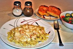 паста, соус, спагетти, макароны