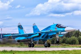 su-34, авиация, боевые самолёты, ввс, россия
