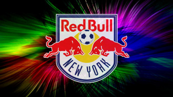 логотип, фон, New York, Red Bulls