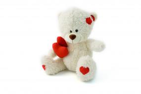 сердечко, медвежонок