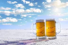 пиво, бокал