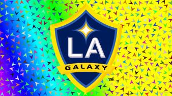 спорт, эмблемы клубов, la, galaxy, фон, логотип