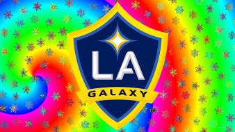 спорт, эмблемы клубов, логотип, la, galaxy, фон
