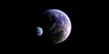 Планета, Космос, Space, Спутник