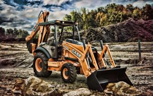 строительная техника, карьерный трактор, серия n, экскаватор, тракторы, погрузчик