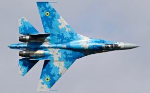 авиация, боевые самолёты, су-27