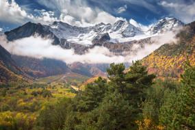 ущелье, Дигорское, Кавказ, Северная Осетия, Россия, горы