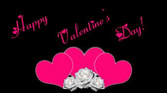 сердечки, розы